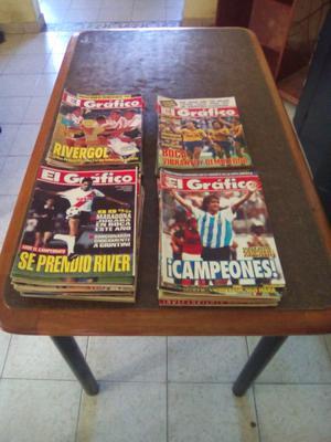 Lote revistas el grafico