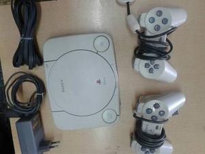 Playstation 1 En Perfecto Estado Con 5 Juegos A Elección