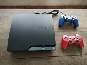 Playstation 3 + 2 Controles + 8 Juegos Digitales