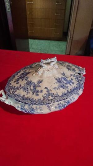 Sopera - Guisera antigua porcelana inglesa