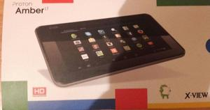 Tablet AMBER HD. Sis android 4nucl.Proces