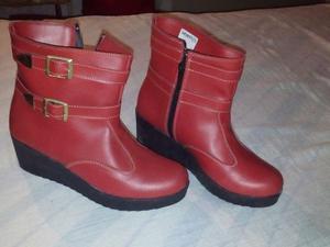 Botas rojas 37