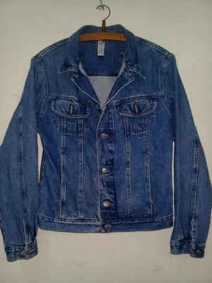 Campera jeans talle S unisex