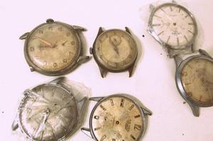 Colección De Relojes Antiguos P/repuestos Aetos B067