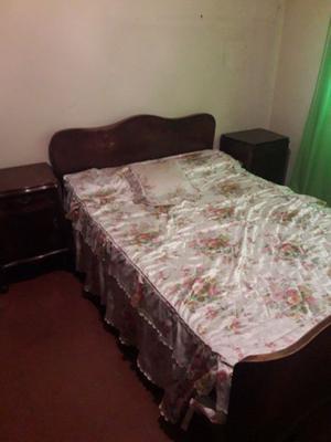 Juego de dormitorio antiguo, completo