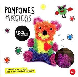 Pompones Magicos 400 Piezas Encastres Tipo Bunchems