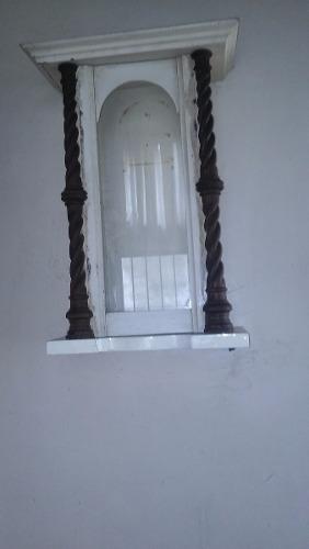 Reloj A Pendulo De Pared Antiguo,caja Sola.