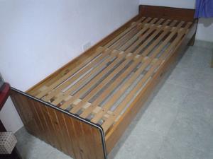 cama una plaza de formica con colchon
