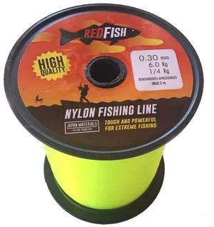 BOBINA DE NYLON RED FISH DE 0.30 X  MTS. !!¡! COLOR