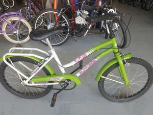 Bicicleta de Paseo de Niña Rodado 20 Usada