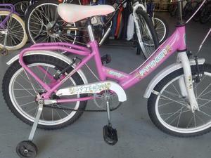 OPORTUNIDAD!! Bicicleta de Paseo de Niña Rod 16 Usada