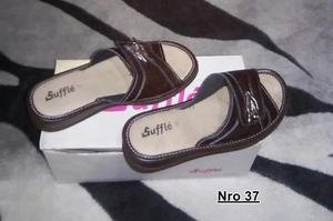 Vendo zapato usado color marrón nro 37