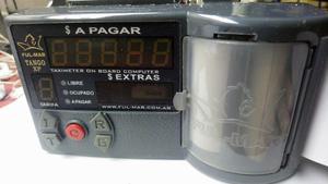 reloj de taxi FULMAR TANGO XP,c/impresor termico,c/bandera