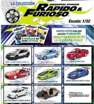 Autos De Coleccion Rapido Y Furioso 1:32 Nuevos Modelos