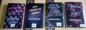 Coleccion libros monster high x 4