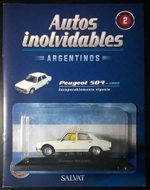 Peugeot 504 Coleccion Salvat Autos Inolvidables. Impecable