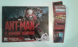 Vendo colección completa de figuritas de Ant-Man el hombre