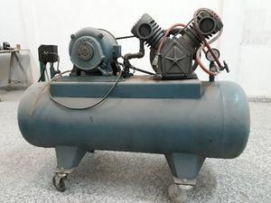 Compresor de Aire Doble Cabezal 3HP Trifásico 150 Libras