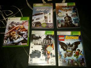 Juegos de Xbox 360 originales casi sin uso