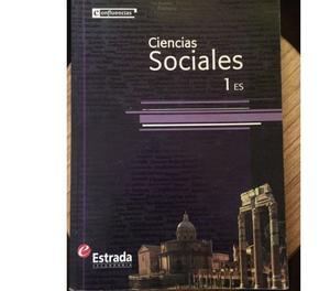Libro Ciencias Sociales 1 Confluencias de Estrada