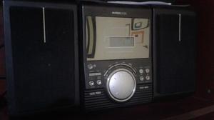 Minicomponente con cassette y cd