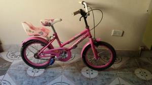 Se vende bicicleta rodado 16 para niña