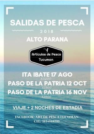 Viajes de Pesca. Pesca en el Parana !!! Paso de la Patria