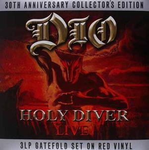 Dio Holy Diver Vinilo Triple Rojo Translucido Nuevo Import