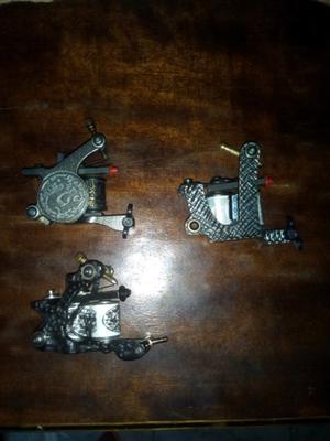 3 máquinas de tatuar