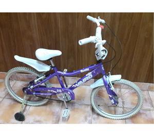 Bicicleta Vairo R20 usada para niña. Oportunidad!!!