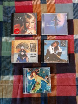Cd´s Originales Celia Cruz Gloria Stefan Maria Jimenez