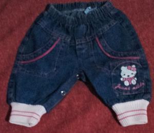 Pantalon de jeans p/bebes
