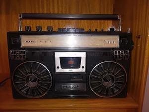 Radiograbador Radio 4 bandas con Cassetera