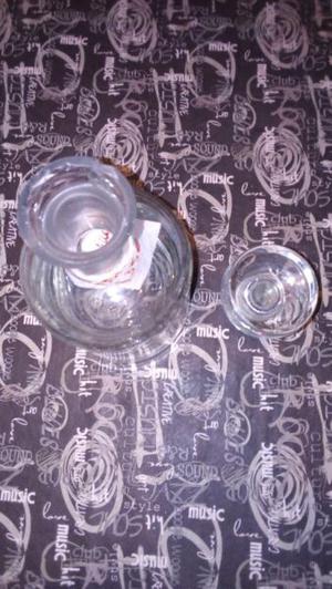 Vendo Botella de Vidrio de licores