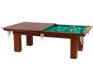 Mesa De Pool Bisonte California Tapa Reversible Ping Pong