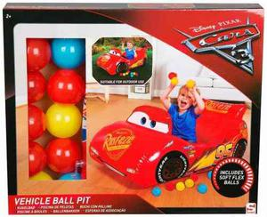 Pelotero Con Pelotas Auto Inflable Rayo Mc Queen Cars 3