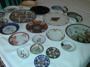 Platos antiguos decorativos