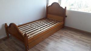 Vendo cama nido de 1 plaza.