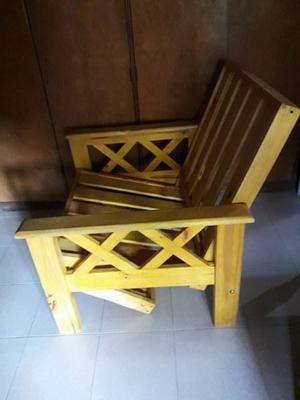 vendo futon de 1 plaza de pino