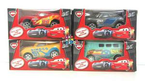 4 Autos Cars3 7cm Fricción Rayo Storm Cruz Ramirez Fillmore
