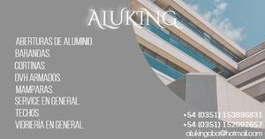 Aluking Fabrica de Aberturas de Aluminio, Barandas,