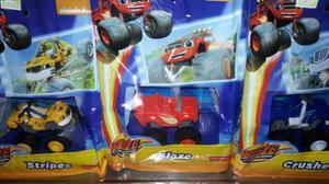 Blaze And The Monster Machine Combo X 3 Autos Blister Origi
