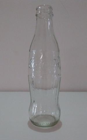 Botella Vidrio Coca Cola 237ml Artesanía Decoración