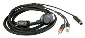 Cable Reforzado Playstation 2 A 2 Rca Svideo 1.8 Mts E