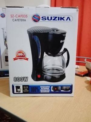 Cafetera Suzika 800w nueva en caja nunca usada $700