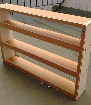 Liquido por mudanza Especiero en madera