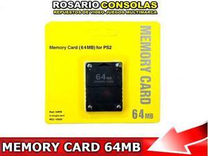 Memory Card 64mb Ps2 Capacidad Real No Te Dejes Engañar