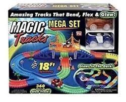 Pista Flexible Magic Tracks Mega Set, Dos Autos 360 Pieces