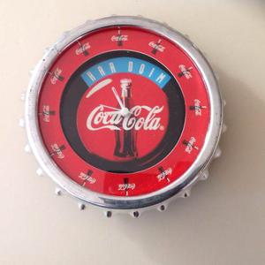 Reloj De Pared O Escritorio Coca Cola Ideal Coleccionistas