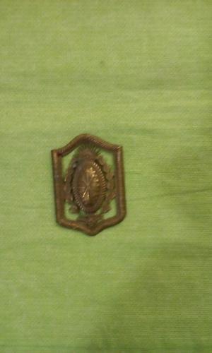 Vieja insignia de la policia de santa fe en buen estado
